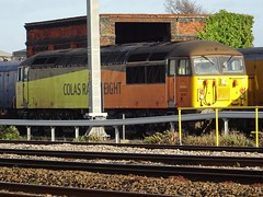 Photo of 56105 resting in the sun on Canton TMD. Thursday 2nd April 2020.