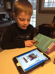 "Paul Listens to Mrs. Hoffman's Message on Seesaw • <a style=""font-size:0.8em;"" href=""http://www.flickr.com/photos/109120354@N07/49728496733/"" target=""_blank"">View on Flickr</a>"