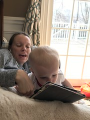 """Luc Watches Videos on Mommy's iPad • <a style=""""font-size:0.8em;"""" href=""""http://www.flickr.com/photos/109120354@N07/49728497563/"""" target=""""_blank"""">View on Flickr</a>"""