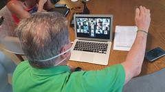 02.04.20 Em videoconferência com secretariado, prefeito Arthur Virgílio Neto trata sobre plano de contingência