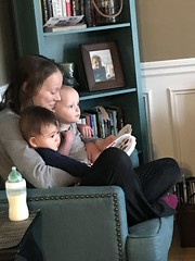 "Mommy Reads to Jack and Sam • <a style=""font-size:0.8em;"" href=""http://www.flickr.com/photos/109120354@N07/49729043326/"" target=""_blank"">View on Flickr</a>"