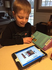 "Paul Listens to Mrs. Hoffman's Message on Seesaw • <a style=""font-size:0.8em;"" href=""http://www.flickr.com/photos/109120354@N07/49729044791/"" target=""_blank"">View on Flickr</a>"