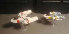 Clone Wars-era Y-wing Variant MOC
