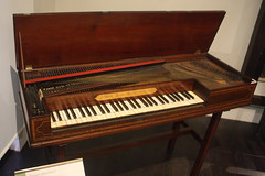 Photo of Dulcimers, etc. [Board Zithers] 62: Square Piano (at St Cecilia's Hall)