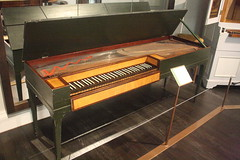 Photo of Dulcimers, etc. [Board Zithers] 60: Clavichord [unfretted] (at St Cecilia's Hall)