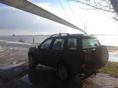 Photo of Winter under the Humber Bridge