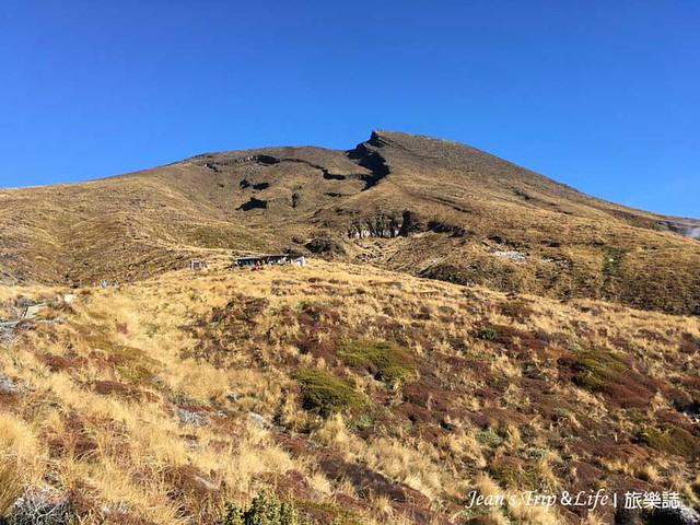 東加里羅末日火山的山屋Ketetahi Hut