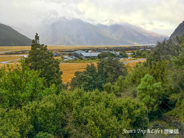 Glencoe Walk步道俯瞰庫克山村的美景
