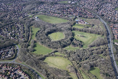Photo of Hunsbury Hill Park & Iron Age Fort aerial image