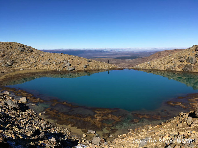 翡翠湖呈現超美的顏色