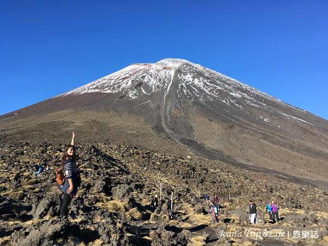 來跟末日火山中的諾魯霍伊火山合拍一張