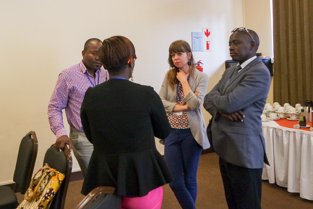 1809-19395- Janne speaks to representatives from Rwanda_ Kenya and Tanzania Medical Association