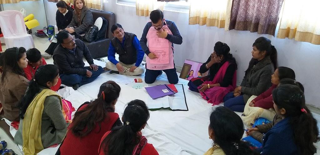 Training of youth leaders by IDF team in Madhya Pradesh