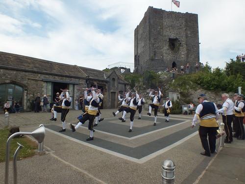Neil Dancing at Clitheroe Castle -June 2018