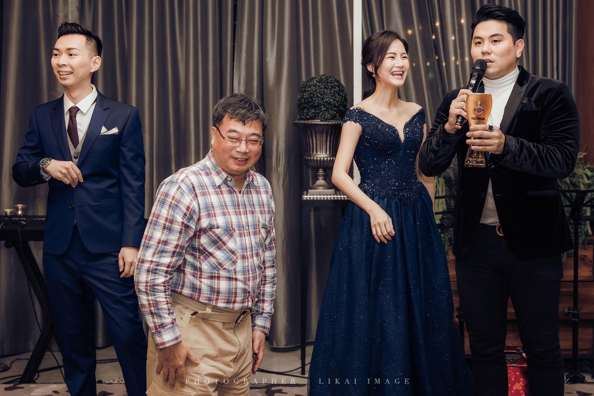 婚禮紀錄 - 英秀 & 明楷 - 101大安東尼