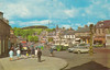 High Street, Biggar old postcard 1960s