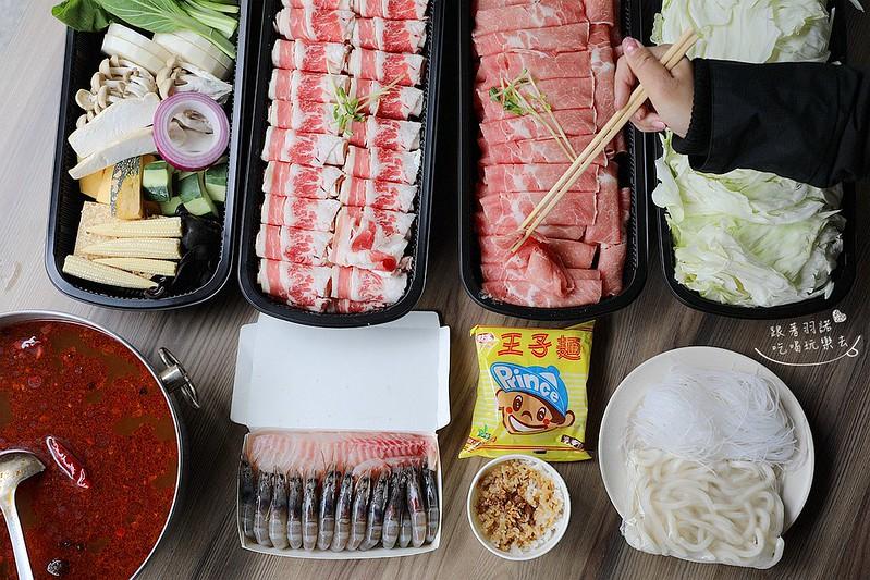 肉多多火鍋1399元外帶分享餐挑戰最狂肉1斤肉065