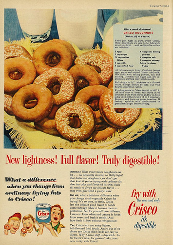 Crisco - New Lightness! Full Flavor! Truly Digestible!