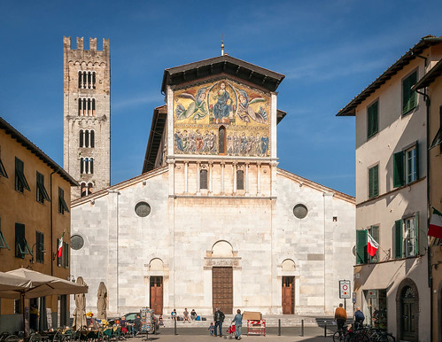 Lucca; Basilika San Frediano