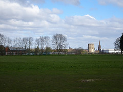 Photo of Playingfields at Overleigh St Mary's Primary School, Chester, 2020 Mar 29
