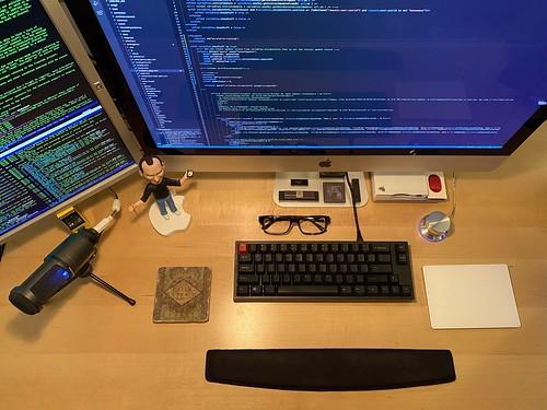 main home workstation setup by blakespot, on Flickr