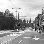 empty Princes Street