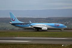 Photo of G-FDZU Boeing 737-8K5, TUI Airways, Bristol Airport, Lulsgate Bottom, Somerset