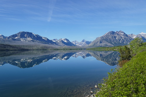 Glacier NP - Lac Saint Mary