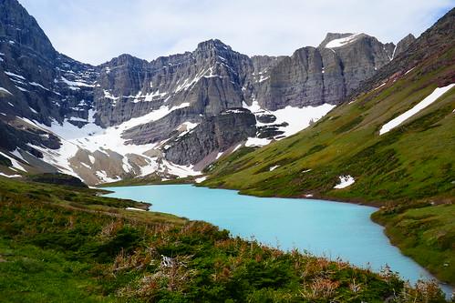 Glacier NP - Lac Cracker et Glacier Siyed