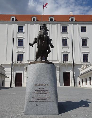 Bratislavský hrad – Svätopluk I