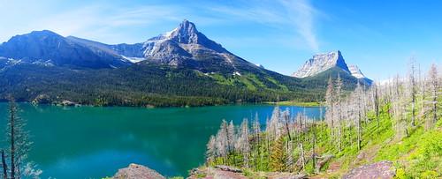 7 - Glacier NP - Lac Saint Mary