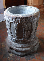 Photo of Font, Claverley