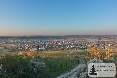 Blick auf Stadecken vom Hiebergturm aus