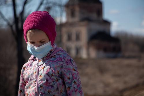 Coronavirus girl by https://www.vperemen.com, on Flickr
