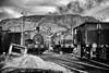 On shed, Bedlay Colliery, Scotland... B&W