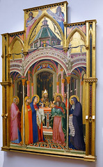 Lorenzetti, Presentation at the Temple