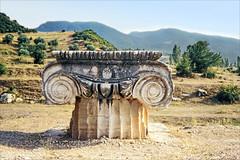 Le site du temple d'Artémis (Sardes, Turquie)