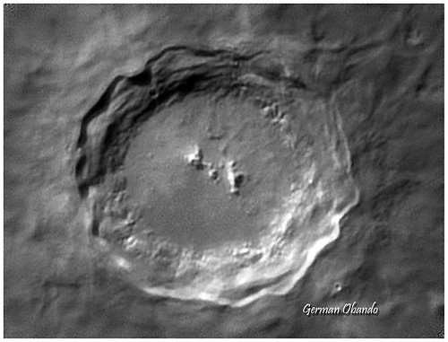 German Obando Soto-crater
