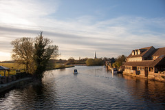 Photo of UK, Cambridgeshire - St Ives during Golden Hour