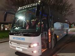 Photo of Sky Coaches Ltd Manchester FJ08BYB