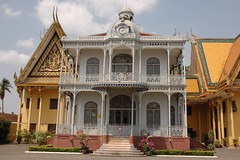 French Style House in Royal Palace Phnom Penh