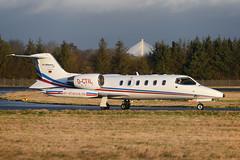 Photo of D-CTIL Learjet 31A EGPH 08-02-20