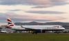 G-NEOU Airbus, Edinburgh