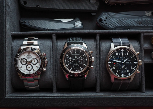 Just some nice chronographs