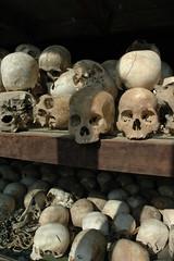 Choeung Ek Memorial Skulls Phnom Penh