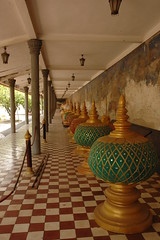 Gold Balls Royal Palace Phnom Penh