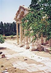Le Tétrapylon à Aphrodisias (Turquie)