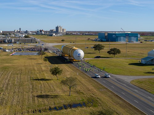 NASA Ground, Marine Teams Integral to Moving SLS Rocket to Pad