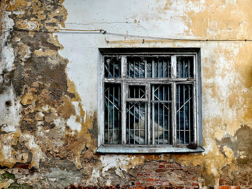 Wall and window. Decay ©  Sergei F