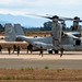 MARINES LEAVING THE OSPREY TO SECURE MCAS MIRAMAR
